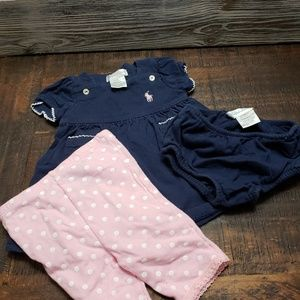 3 piece Ralph Lauren Set